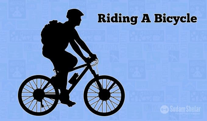 destressing-life-Riding-A-Bicycle