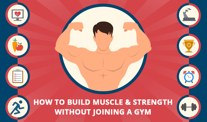 how to build body without gym